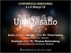 Cartaz Missionconf2016